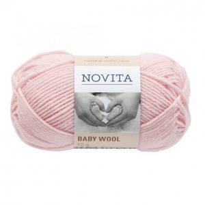 Novita Baby Wool Ruusu Lanka 50 G