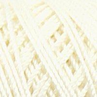 Novita Cotton Crochet Luonnonvalkoinen Lanka