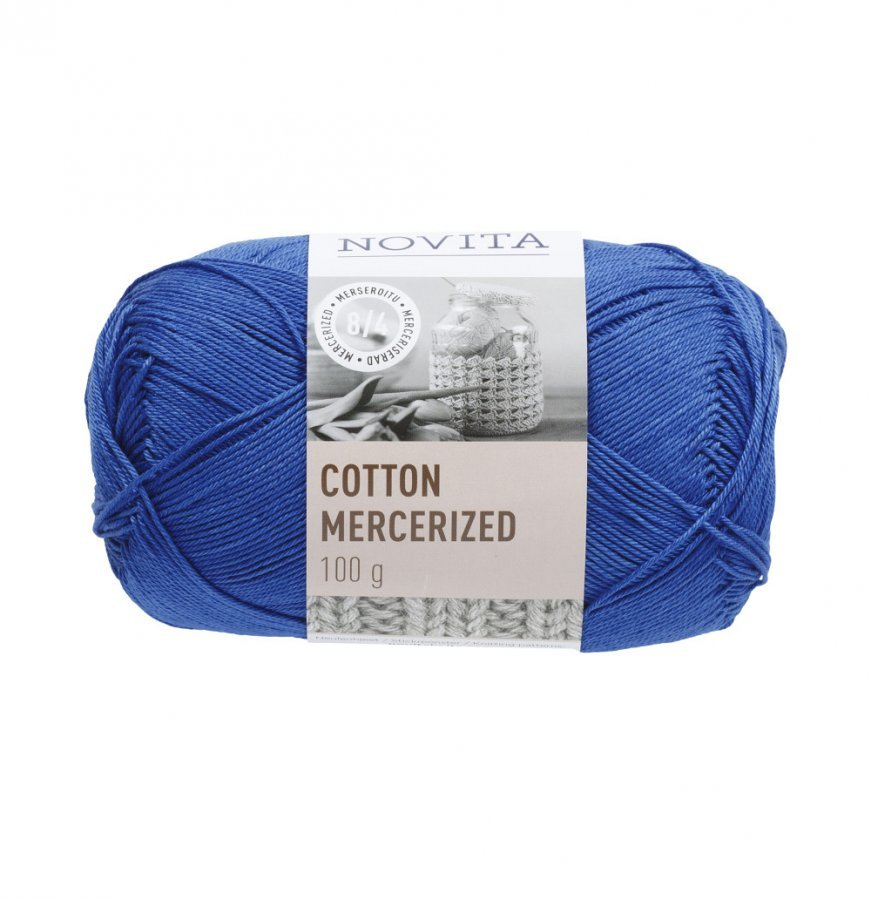 Novita Cotton Mercerized Ruiskaunokki Lanka 100 G