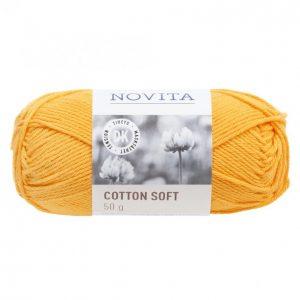 Novita Cotton Soft Auringonkukka 269 Lanka 50 G