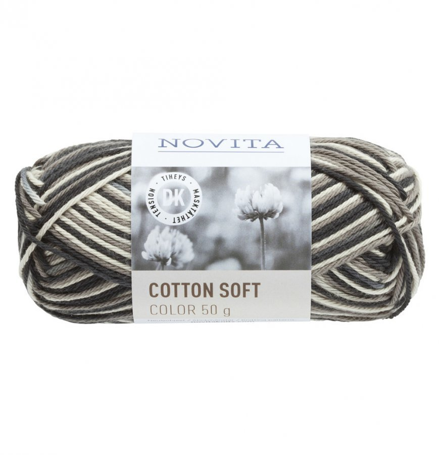 Novita Cotton Soft Color Kallio 890 Lanka 50 G