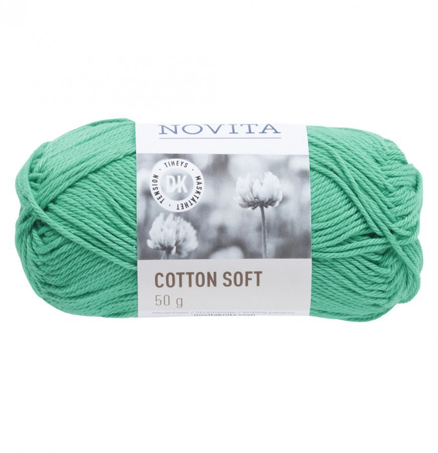 Novita Cotton Soft Jade 338 Lanka 50 G