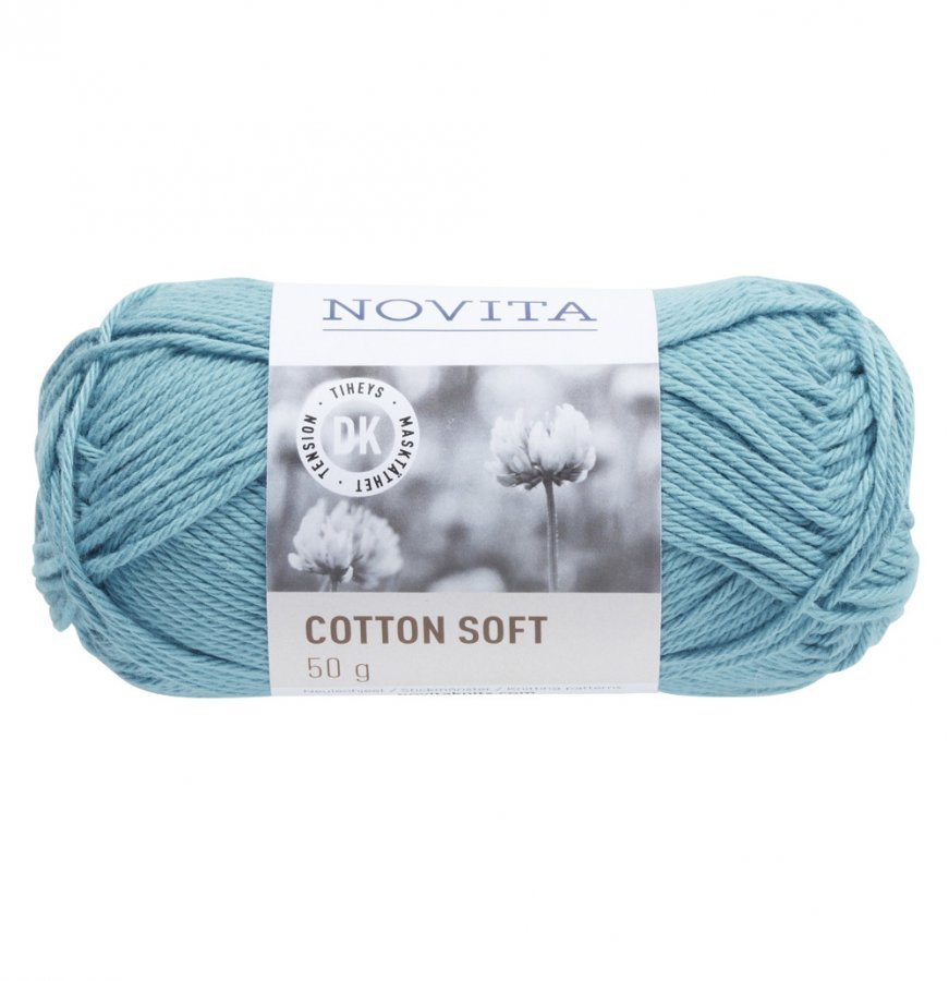 Novita Cotton Soft Vesi 120 Lanka 50 G