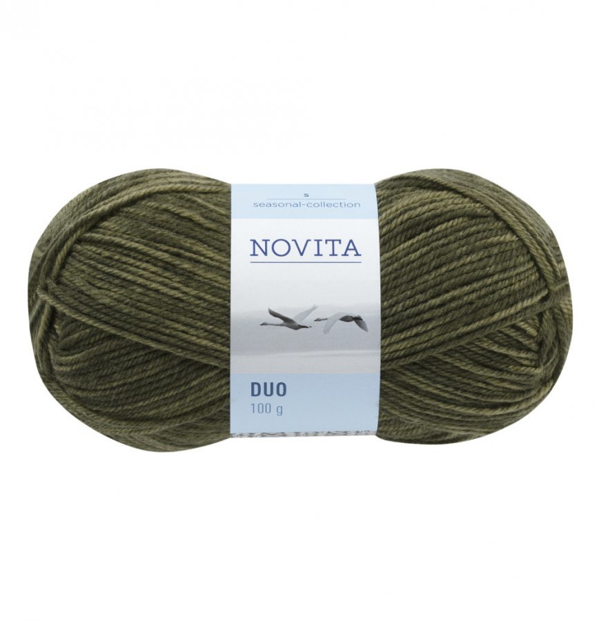 Novita Duo Vihreä Lanka 100 G