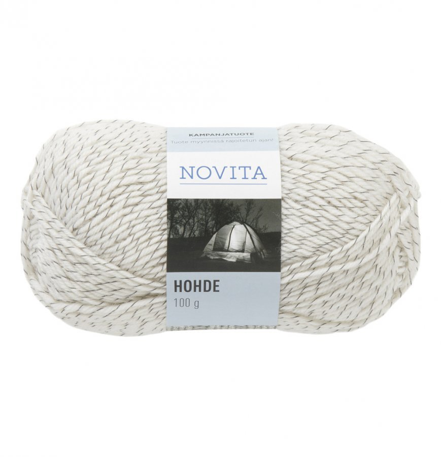 Novita Hohde Valkoinen Lanka 100 G
