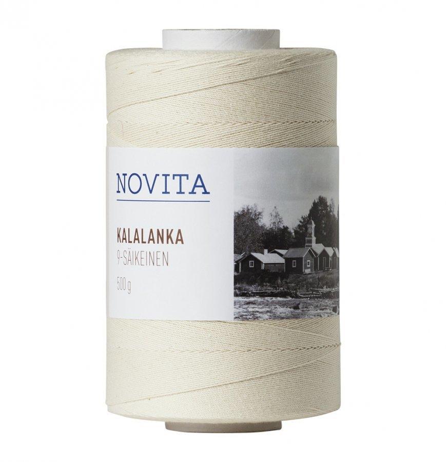 Novita Kalalanka 9-Säikeinen 500 G