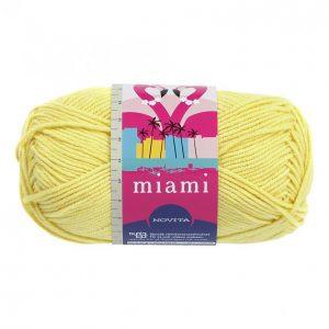 Novita Miami Keltainen Lanka 50 G