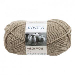 Novita Nordic Wool Beige Lanka 50 G