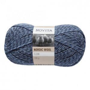 Novita Nordic Wool Flow Farkku Lanka 100 G