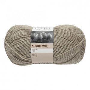 Novita Nordic Wool Flow Juurakko Lanka 100 G