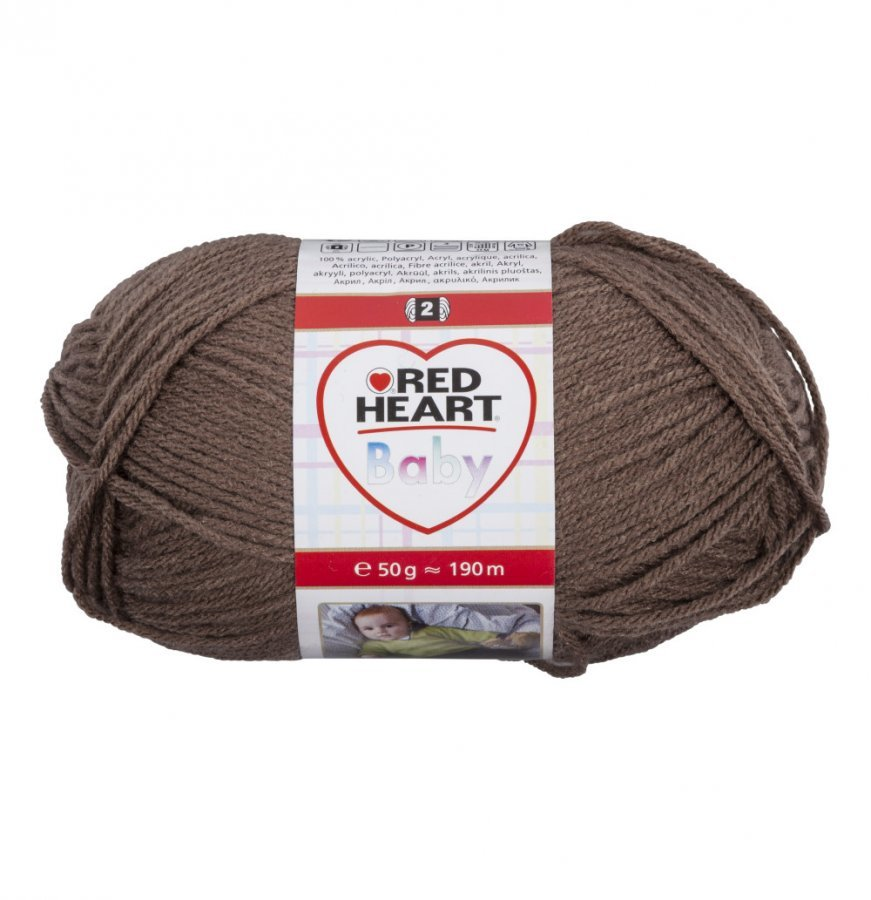 Red Heart Baby Ruskea Lanka 50 G